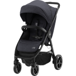 Wózek spacerowy | BRITAX Romer B-Agile R | Black Shadow/Black
