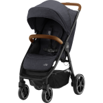 Wózek spacerowy | BRITAX Romer B-Agile R | Black Shadow/Brown