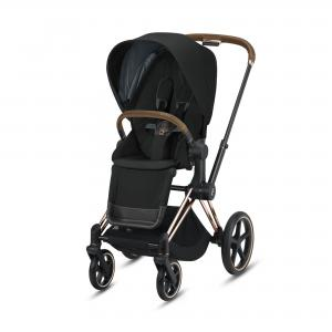 Wózek spacerowy Cybex Priam 2.0 Deep Black Rosegold