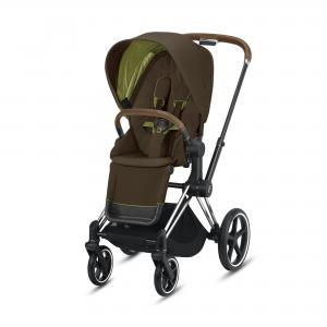 Wózek spacerowy Cybex Priam 2.0 Khaki Green Chrome Brown