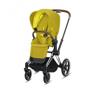 Wózek spacerowy Cybex Priam 2.0 Mustard Yellow Chrome Brown