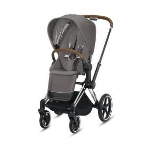 Wózek spacerowy Cybex Priam 2.0 Soho Grey Chrome Brown
