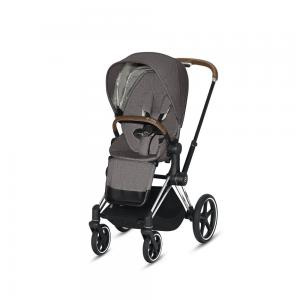 Wózek spacerowy Cybex Priam 2.0 PLUS Manhattan Grey Chrome Brown