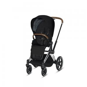 Wózek spacerowy Cybex Priam 2.0 PLUS Stardust Black Chrome Brown