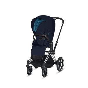 Wózek spacerowy Cybex Priam 2.0 PLUS Midnight Blue Chrome Black