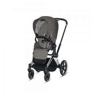 Wózek spacerowy Cybex Priam 2.0 PLUS Manhattan Grey Chrome Black