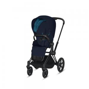 Wózek spacerowy Cybex Priam 2.0 PLUS Midnight Blue Matt Black