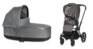 Wózek 2w1 Cybex Priam 2.0 PLUS Manhattan Grey Matt Black