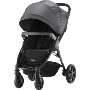 Wózek spacerowy BRITAX Romer B-Agile 4 PLUS Black Denim
